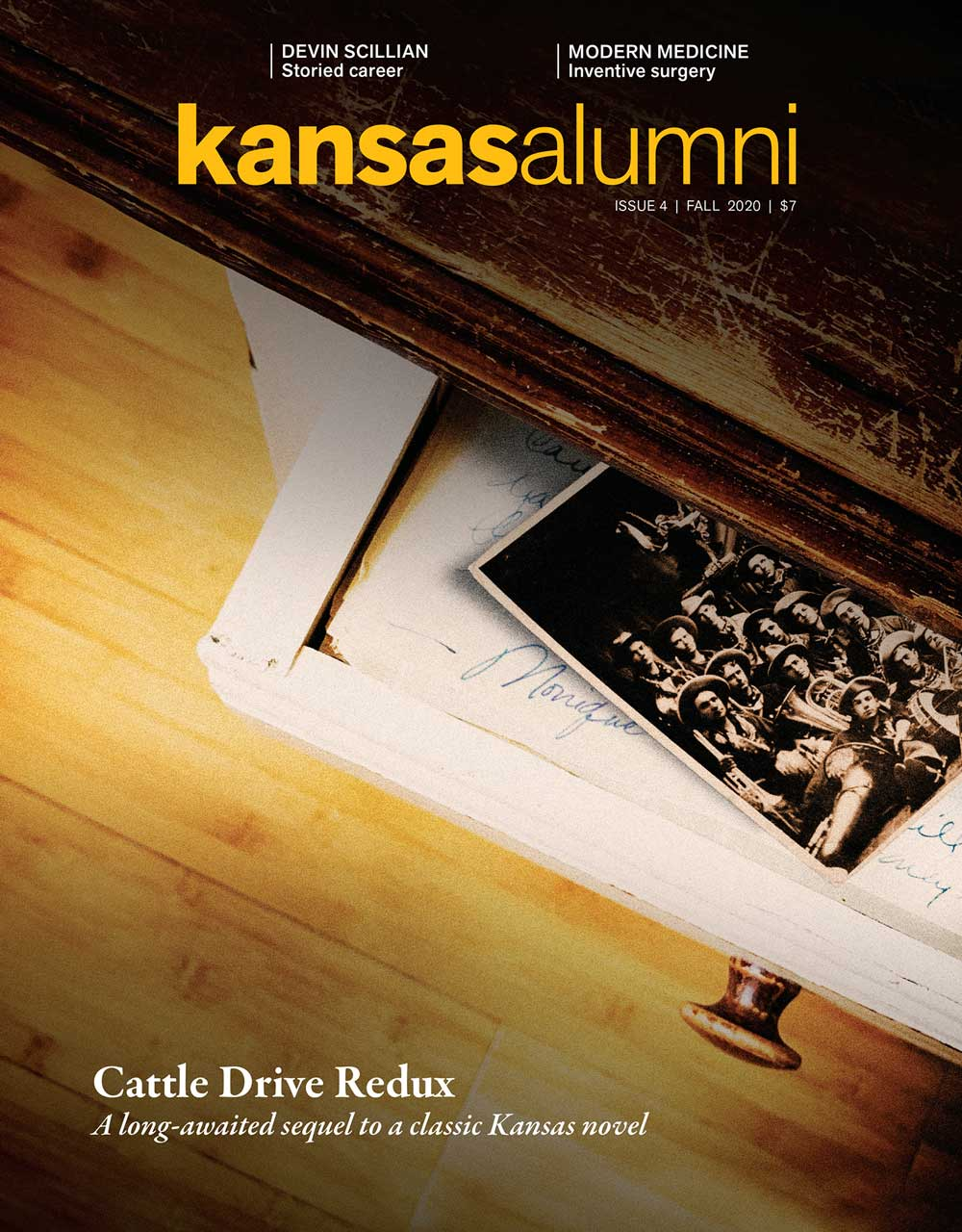 Kansas Alumni Magazine, issue No 1, 2021